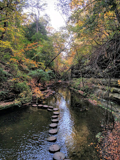 Matthiessen State Park Trails Map : matthiessen, state, trails, Foliage, Hiking, Matthiessen, State, Park,, Illinois