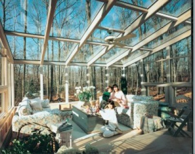 sunroom glass roof