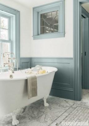 Painting Bathrooms - Grey paint - bathroom - quinju.com