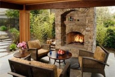 outdoor fireplace - quinju.com