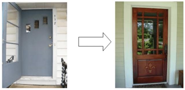 Front Door - Old to New - quinju.com
