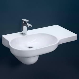Modern Wall Hung Sink - Bathroom Vanity - quinju.com
