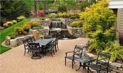 Outdoor Furniture-water fall- quinju.com