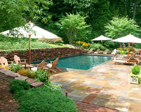 designing backyard swimming