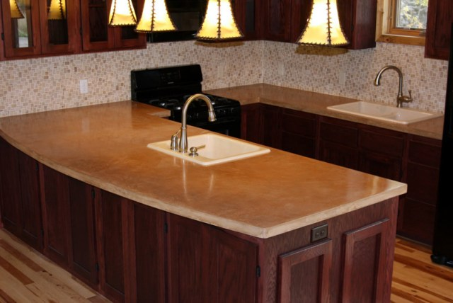 Kitchen Counter Tops - Concrete - quinju.com