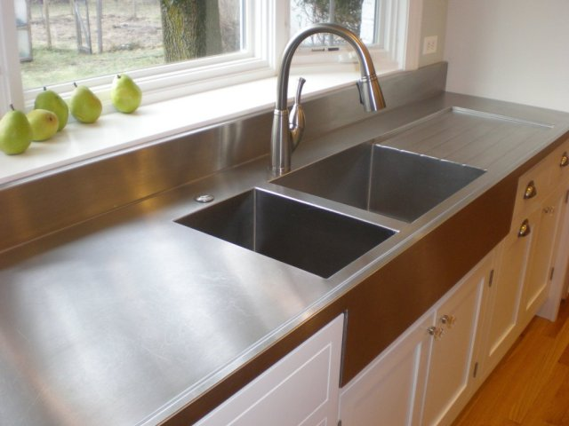 Kitchen Counter Tops - Metal - quinju.com
