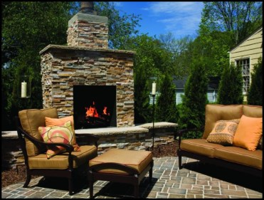 Patio Furniture with Fireplace - Quinju.com