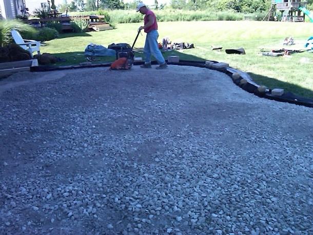 site preparation - interlocking stones - quinju.com