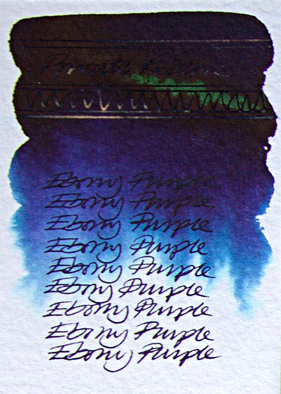 private reserve blue purple inks test