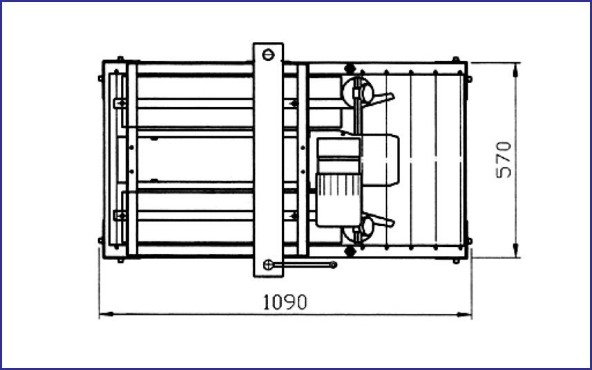 FULL AUTOMATIC RANDOM CASE SEALER MODEL SGS 703