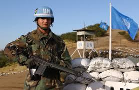 UN guard post