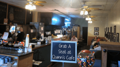 Grab a Seat at Quinn's Cafe