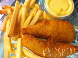 Quinns Cafe Kids Meal
