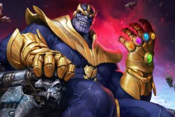 Thanos, O Titã Louco
