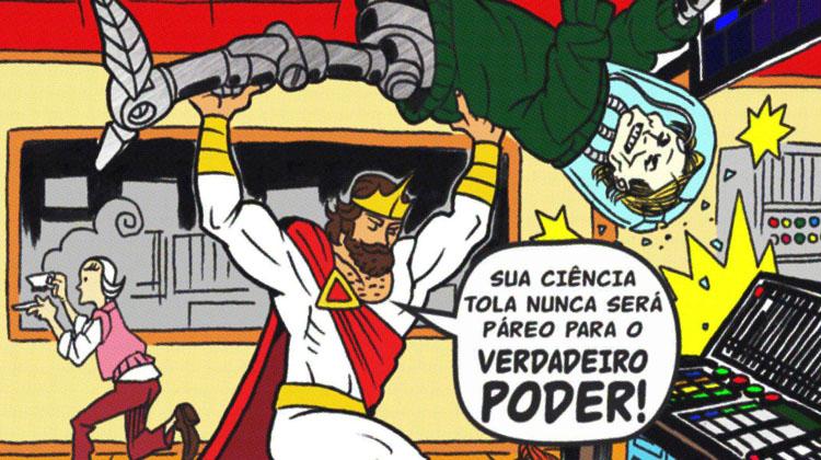 Timmy Chosen, o gibi para louvar Jesus, de Caio Oliveira