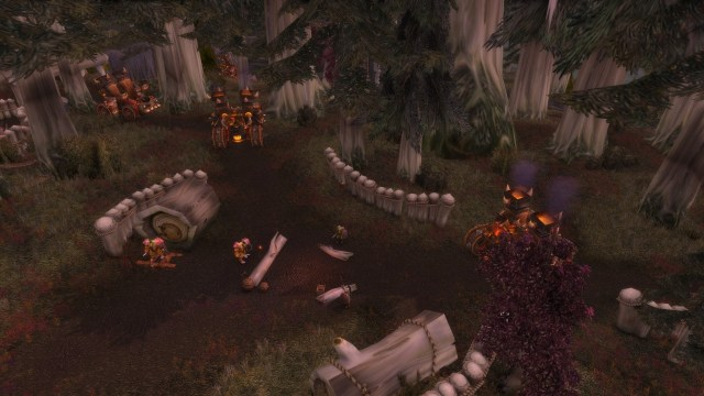 Patch 8.0 - Guerra dos Espinhos - Hidden Amongst the Leaves
