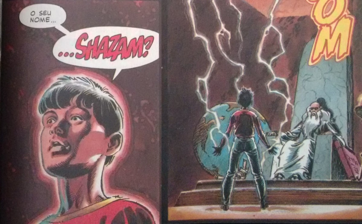 As Origens do Shazam - Parte 2. Jerry Ordway, 1996