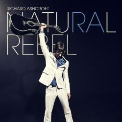 Capa do novo disco de Richard Ashcroft, Natural Rebel.