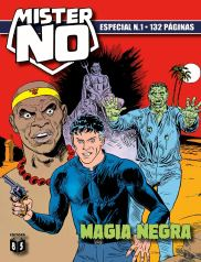 Capa da edição Mister No Especial nº 1, lançada pela editora 85.
