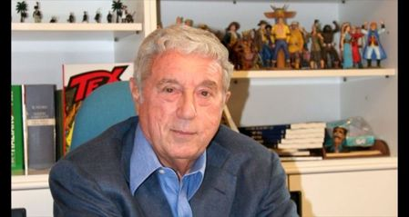 O saudoso editor e roteirista Sergio Bonelli.