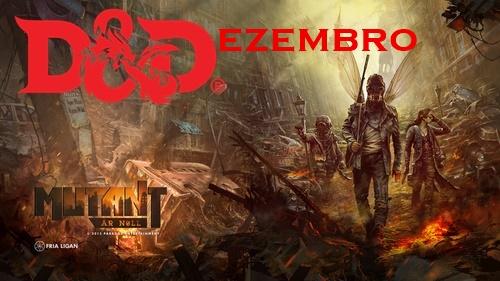 D&Dezembro | Mutant: Ano Zero - Um RPG Pra Quem Curte Fallout