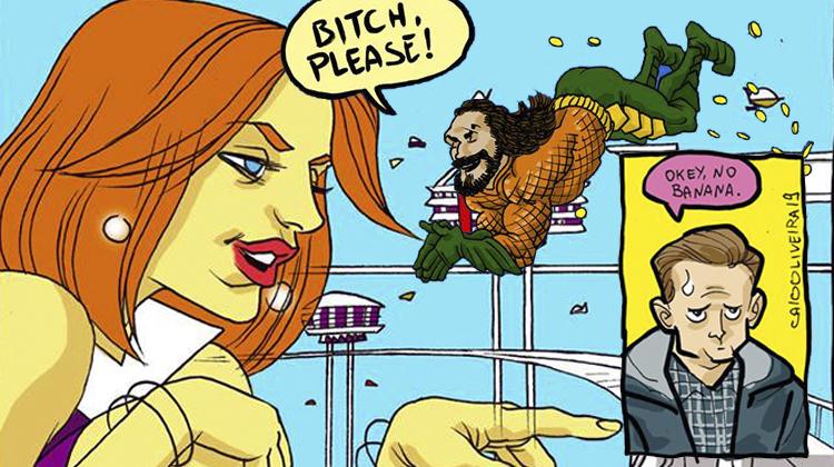 Cantinho do Caio | Jetsons Runner, Aquaman fez bi, Aranha sem banana e mais