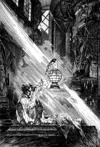 Bernie Wrightson. (Frankenstein.)3