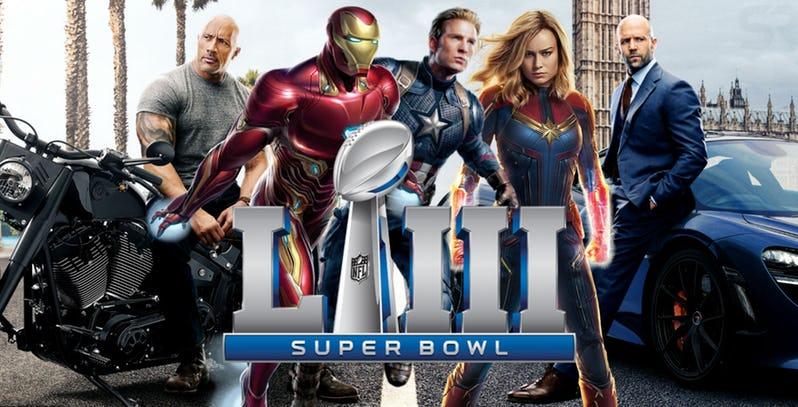 Assista todos os trailers que saíram no Super Bowl 2019!