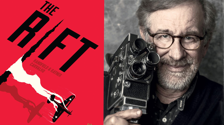 Quadrinho feito por brasileiro será produzido por Steven Spielberg