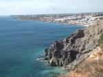 Percurso da Praia da Luz à Praia de Porto de Mós
