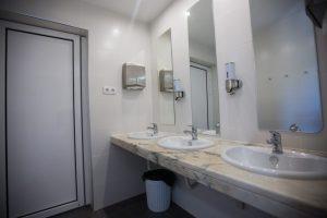 Camarata / Dormitório Misto: Lavatório