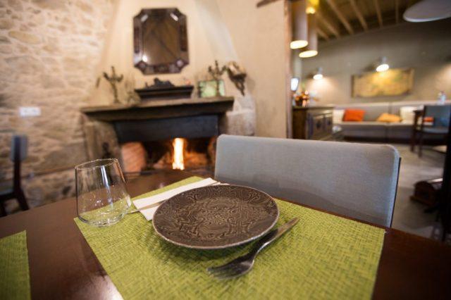Restaurante: Sala: Lareira