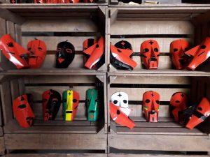 máscara caretos