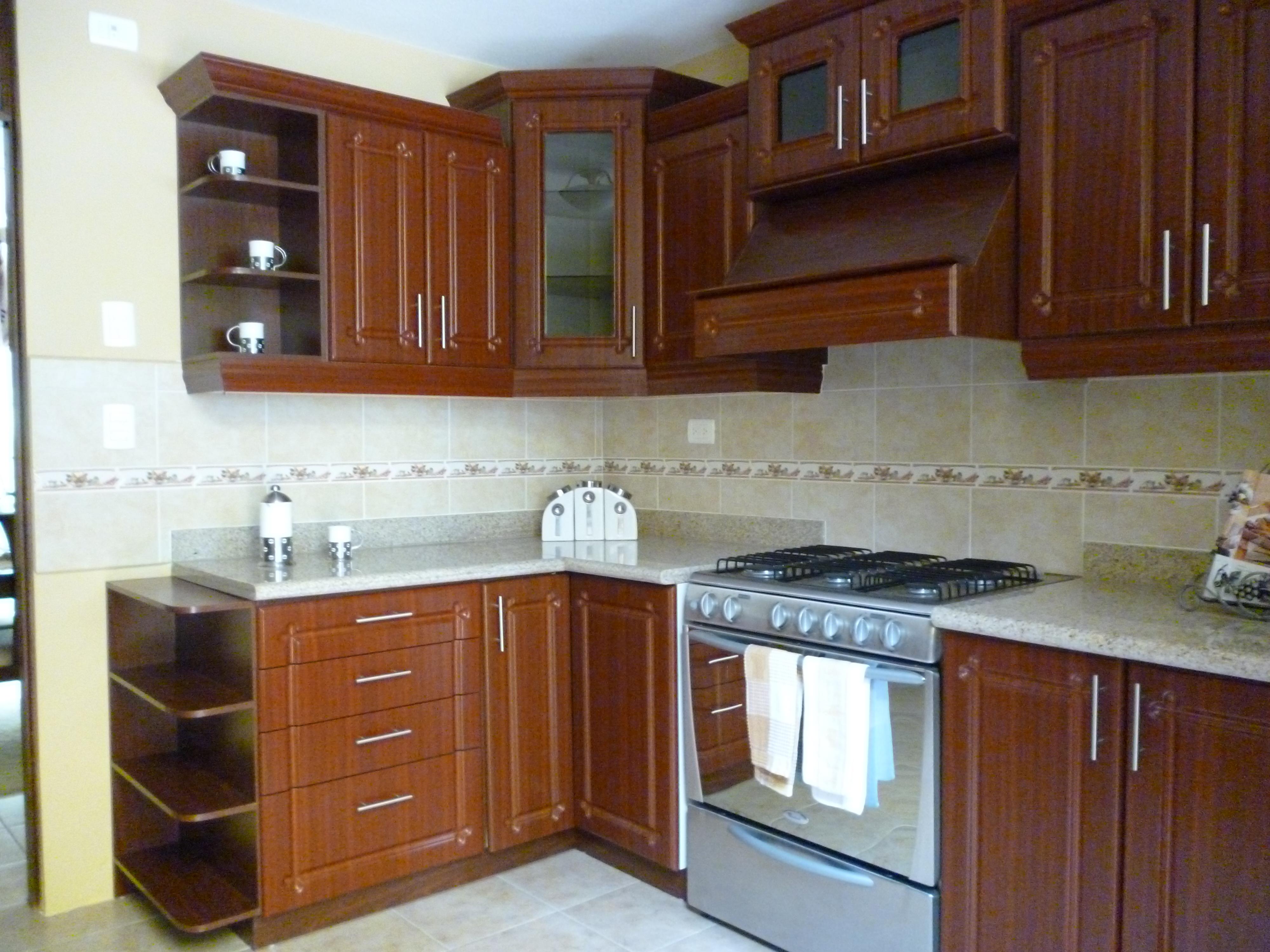 Tipos de muebles para tu cocina