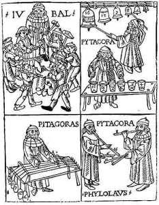 Pitágoras e seus experimentos