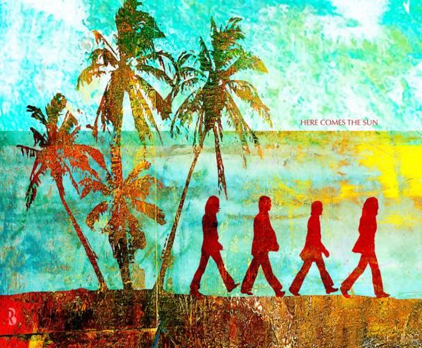Here comes the sun, obra de Rogerio Borges sobre os Beatles em cartaz no Quintana