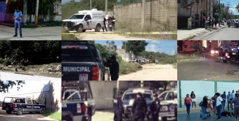 Resultado de imagen para Rompe récord Cancún con 400 asesinatos en lo que va del año
