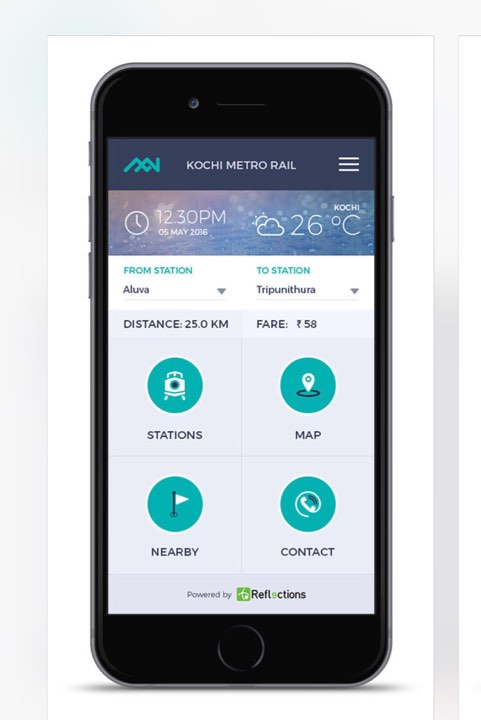 One Mobile Application for Kochi Metro Smart Card