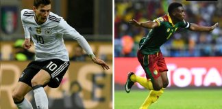 Germany vs Cameroon FIFA Confederation Match Prediction/Live Results