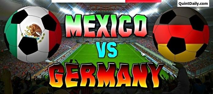 Germany Vs Mexico FIFA Confederations Cup 2017