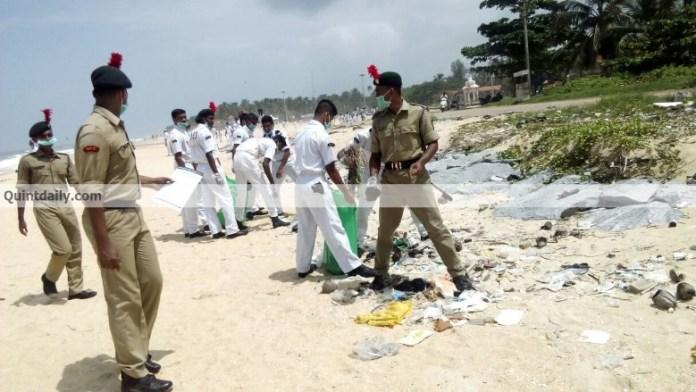 ncc kozhikode environment day 2017