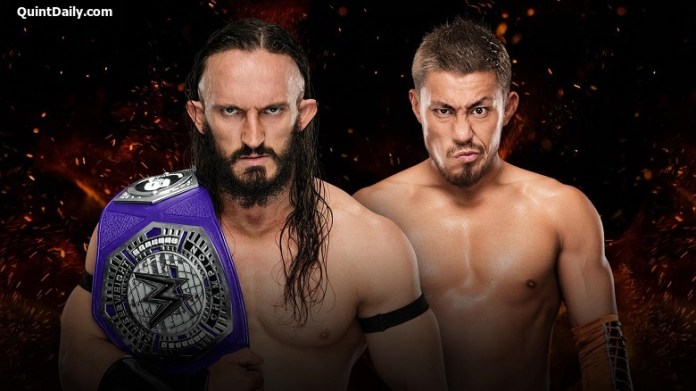Neville vs Akira : WWE Great Balls of Fire 2017 Results