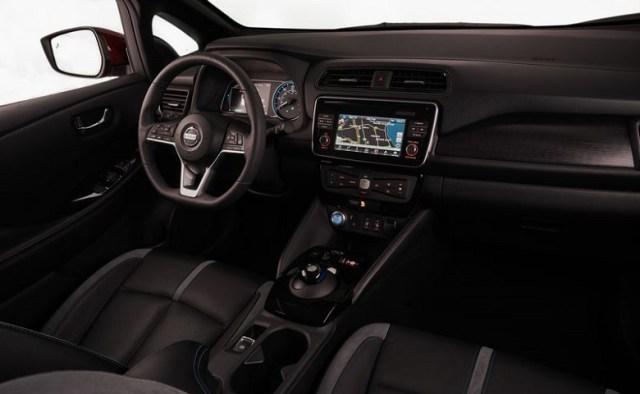 Nissan Leaf Inside