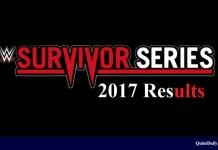 Survivor Series 2017 Results