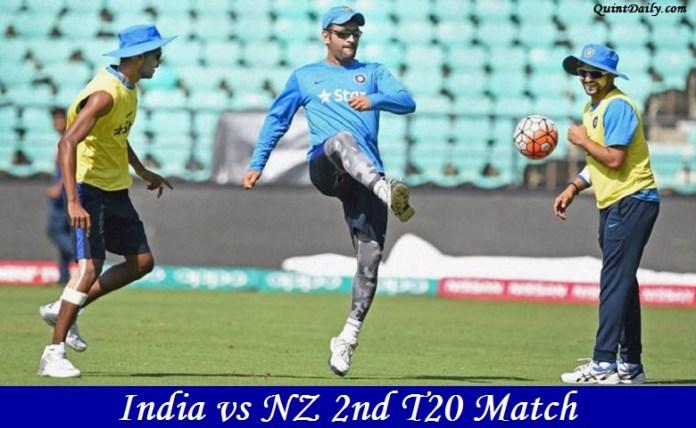 India vs NZ 2nd T20 Match Prediction