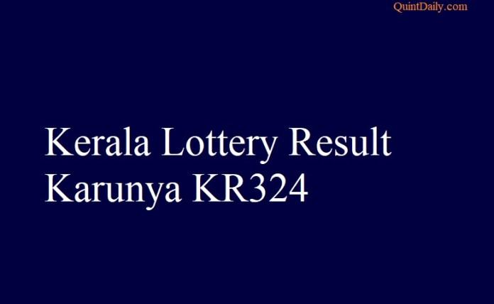Karunya KR324