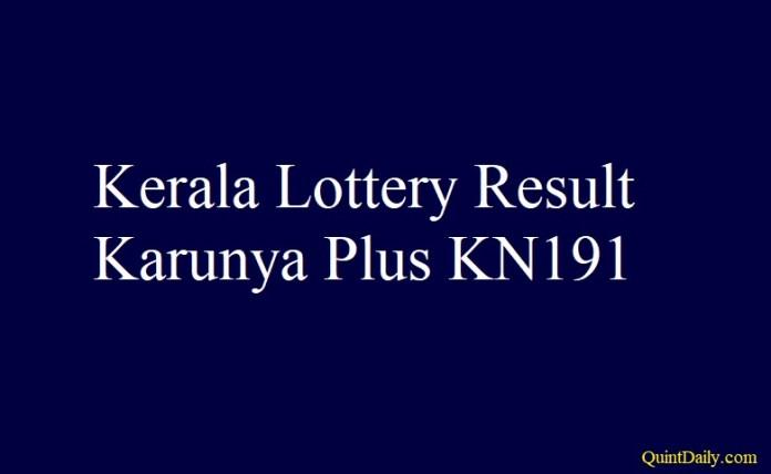 Karunya Plus KN191