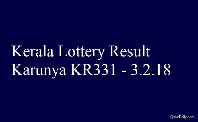 Karunya KR331