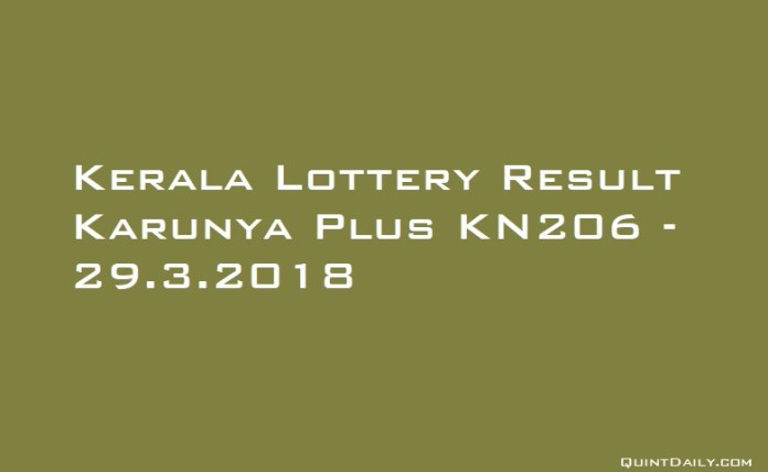 Karunya Plus KN206