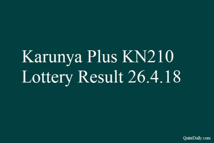 Karunya Plus KN210